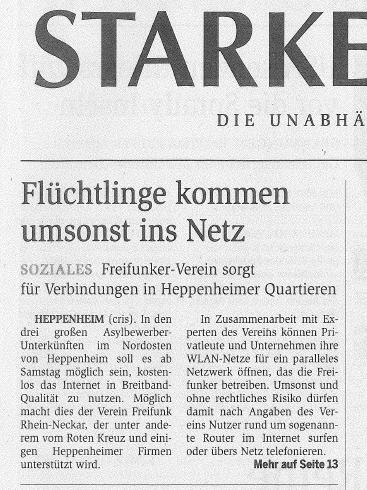 starkenburger echo heppenheim